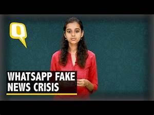 Fake News Crisis: WhatsApp, Cops Bit Doing Enough to Trace ...