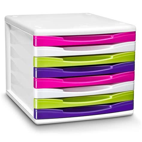 module de classement bureau cep bloc de classement 8 tiroirs gloss multicolore