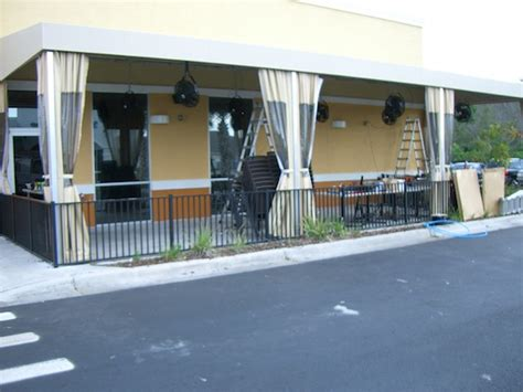 west coast awnings drop curtains gallery