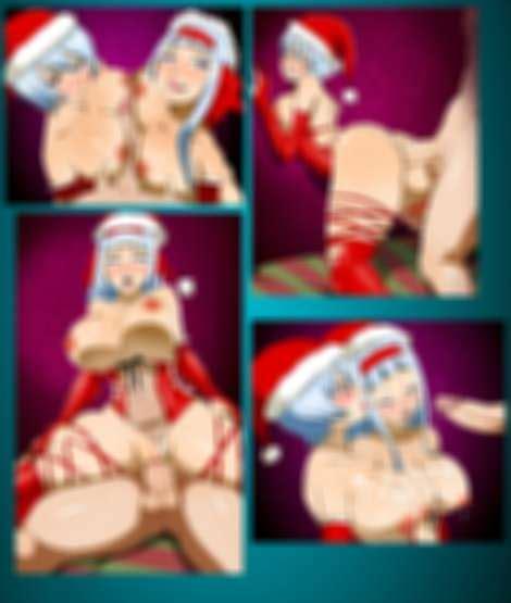 Yukino And Sorano In Santas Outfit By Edjim