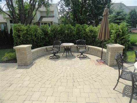 unilock patio designs unilock brussels block pillars wall and brick pavers