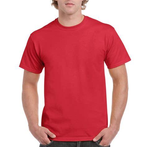 kaos oblong lengan pendek combed 20s merah indos kaos polos