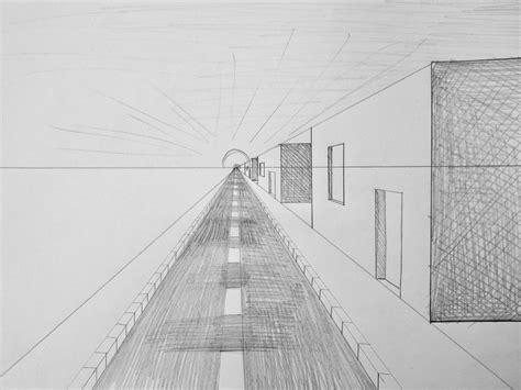 Perspektive Zeichnen Lernen by Fluchtpunktperspektive Mit Einem Punkt Stra 223 E Zum
