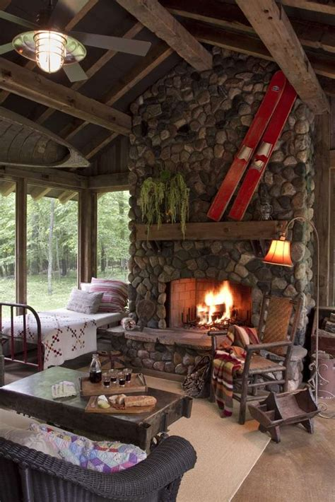 amazing log cabin interiors     awestruck