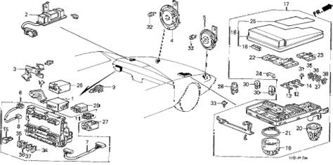 honda online store 1988 accord fuse box relay horn parts