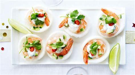 canapé avocat crevette recettes apéritif dînatoire l 39 express styles