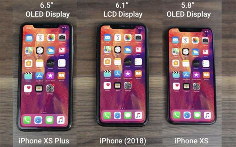 apple iphone xs xs plus and iphone 2018 revealed