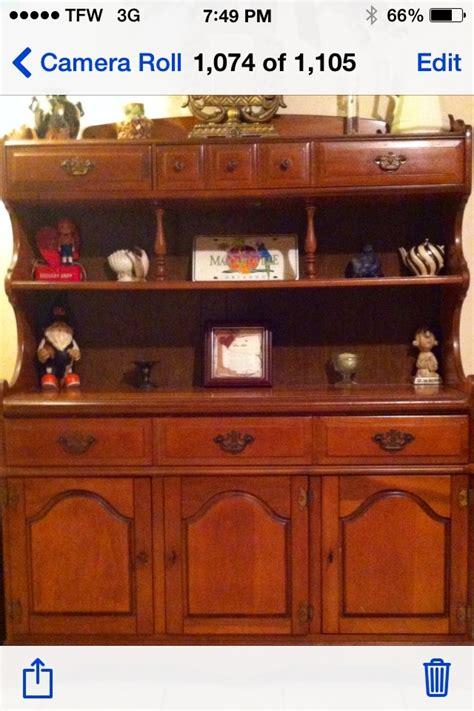 bassett furniture hutch  antique furniture collection