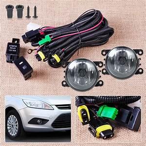 Wiring Harness Sockets   Switch   2 H11 Fog Lights Lamp