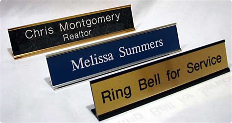 desk name plates traditional desk name plates deco line engraving