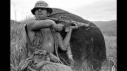 Vietnam War American Mexican Wars Painting Troops