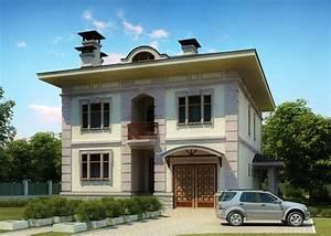 3d, Front, Elevation, Com, Europe, 3d, Design, House, Front, Elevation