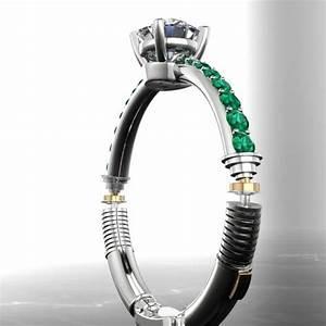 Lightsaber engagement ring mightymega for Lightsaber wedding ring
