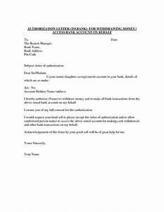 Authority Letter Format To Authorize A Person  Best Template Collection