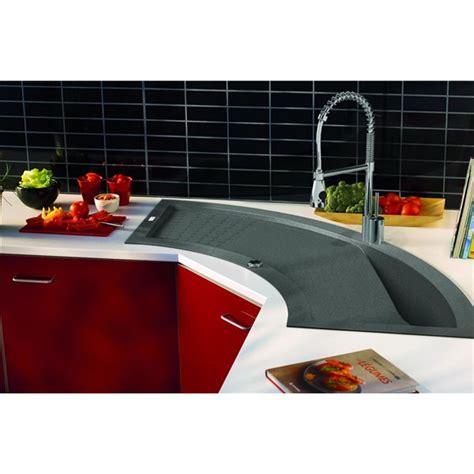 evier resine gris clair evier duangle de cuisine encaster cuve en minrale composite gris beton with evier resine