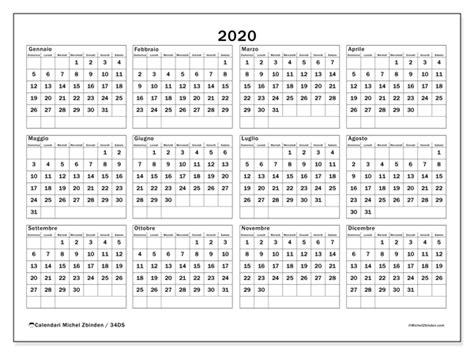 calendario annuale da stampare calendario