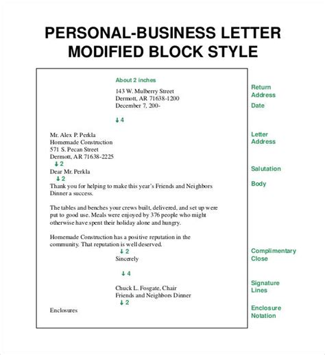 business letter templates    premium