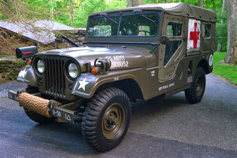 army jeep 1955 willys military jeep ambulance m 170 auto