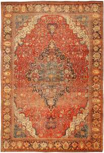 Kilim Rugs On Sale by Antique Sarouk Farahan Persian Rug 43328 Nazmiyal Collection