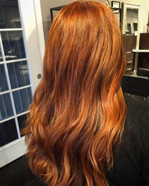 The 25 Best Burnt Orange Hair Color Ideas On Pinterest