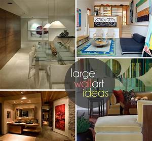 Huge wall art concepts for exquisite interiors best of