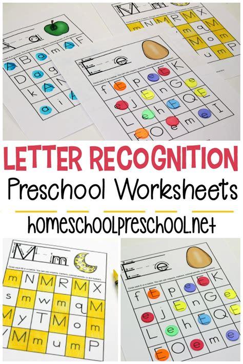 free printable letter recognition worksheets for preschoolers 980   free printable letter recognition worksheets
