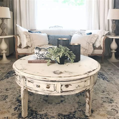 Unique Shabby Chic Coffee Table Designs For Rustic Living
