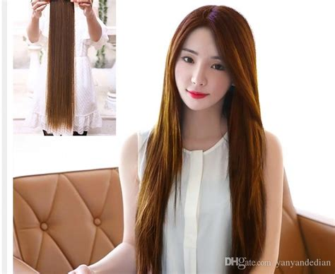 Woman Straight Hair Simulation Long Hair Woman Long