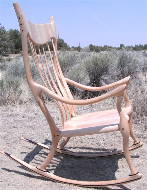 Sam Maloof Rocking Chair Kit by Maloof Inspired Rocking Chair Plans Plans Free