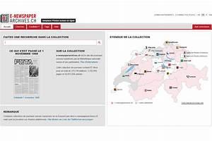 Mon Compte 3 Suisses : la biblioth que nationale suisse propose 87 journaux en ligne ~ Nature-et-papiers.com Idées de Décoration