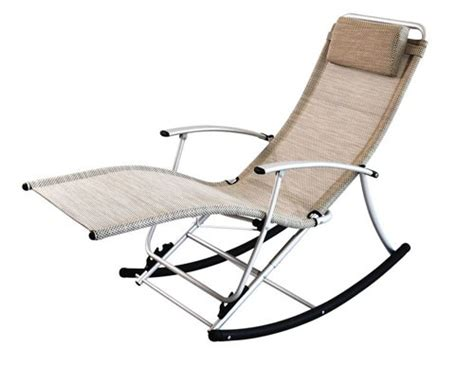 folding rocking patio chair outdoor folding rocking lounge chair plushemisphere