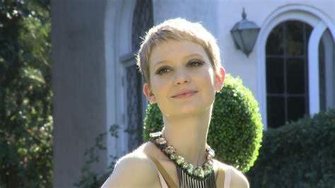 Watch Teen Vogue Cover Stars   Mia Wasikowska's Teen Vogue ...
