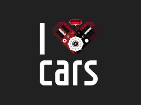 I Love Cars Tshirt By Bartek Kamiński Dribbble