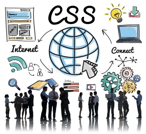 css web  technology web design stock photo image