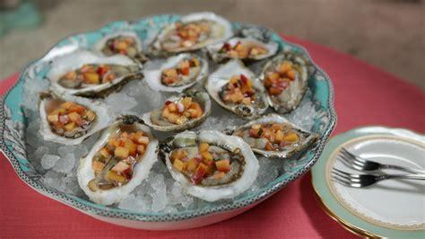 mignonette cuisine oysters with mignonette recipe gac