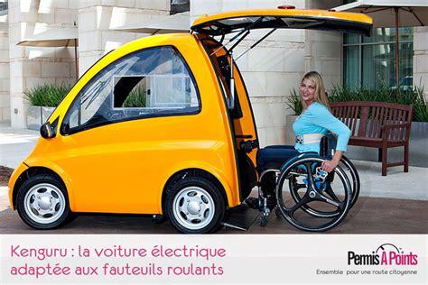 kenguru la voiture adapt 233 e aux fauteuils roulants