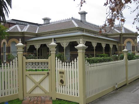 villa fence designs a polychromatic brick victorian villa moonee ponds flickr