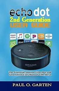 Free Download  Echo Dot 2nd Generation User Guide  The