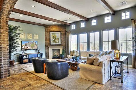 32 Spectacular Living Room Designs With Exposed Beams Master Bathroom And Closet Floor Plans Open Concept Decorating America's Home Place Jumanji House Plan Small Space Cedar Cabin Wyndham La Belle Maison Architectural Symbols