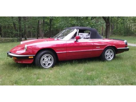 1988 Alfa Romeo Spider by 1988 Alfa Romeo 2000 Spider Veloce For Sale Classiccars