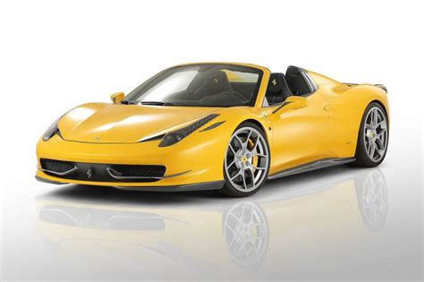 458 Italia Spyder by Novitec Rosso 458 Italia Spider Kit Car Tuning