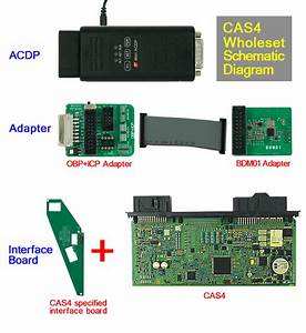 Car Key Programmer On Obd2shop  Yanhua Mini Acdp Connect To Bmw Cas4 No Need Welding