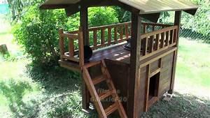 Cabane Pour Chat Exterieur Pas Cher : abri pour chats fait maison youtube ~ Teatrodelosmanantiales.com Idées de Décoration