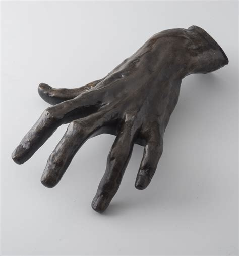 Hand of a Pianist by Auguste Rodin. Official sculpture