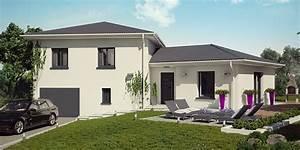 constructeur maison isere demeures caladoises modele et With amenagement exterieur maison terrain en pente 8 cout construction maison avec sous sol maison moderne