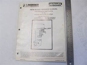 Mercury 25 Hp Outboard Motor Manual