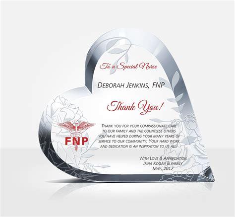 gift  nurse diy awards
