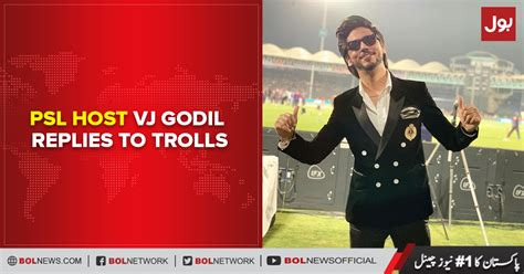 Psl 2020 host ahmed godil trolls and reaction. PSL host Ahmed Godil replies to trolls - BOL News