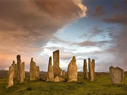 Stones Vertical Nature Wallpapers Scotland Standing Callanish