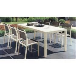 soldes table jardin